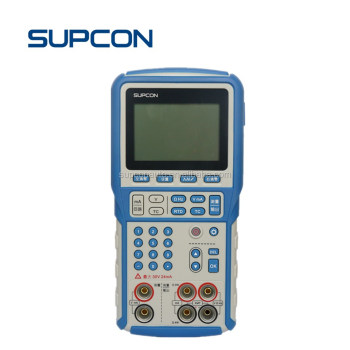 Precision multifunction process calibrator for source and measure process parameters