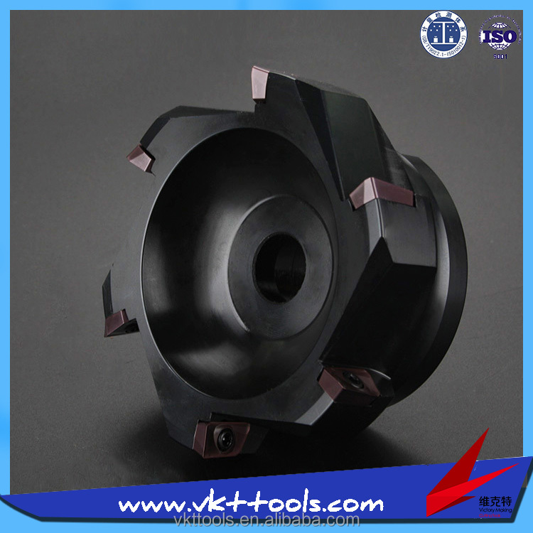 100A06R-S90AP16-32 ------ CNC <strong>Carbide</strong> Insert 100 mm Square Face Mill Head