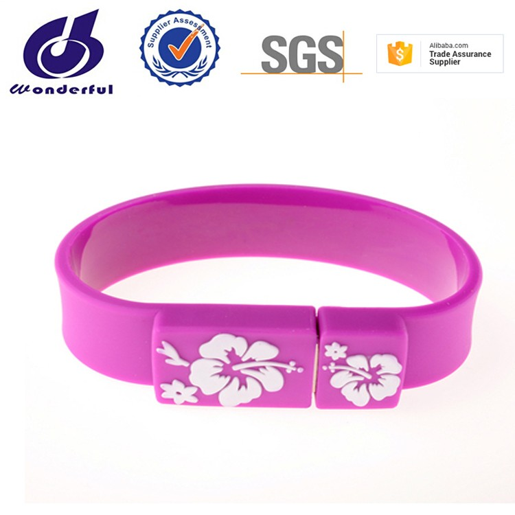 factory outlets real capacity silicone wrist band bulk 1gb usb flash drives