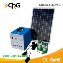 450W Portable Off-Grid Home Lighting solar power equipment for Camping