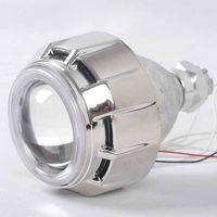 Motorcycle projector lens light double xenon hid kit