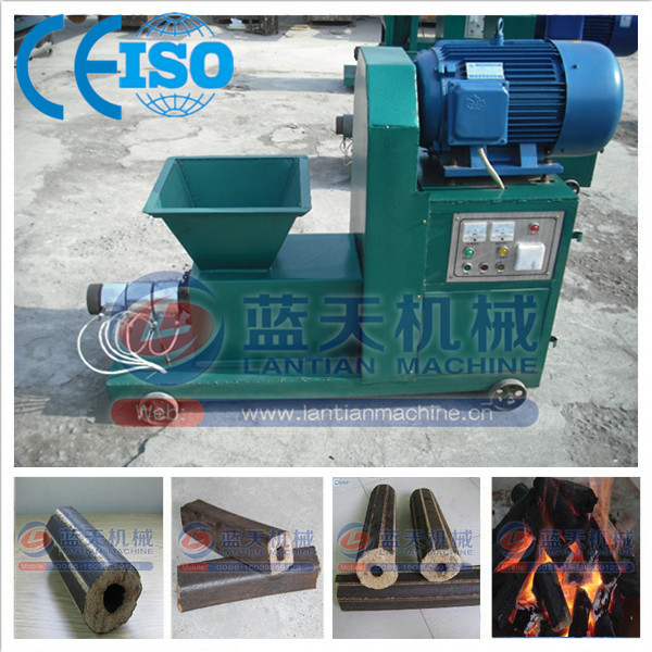 Environmental friendly peanut shell briquette charcoal extruder machine