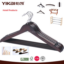 High quality wooden hangers for hotel usage