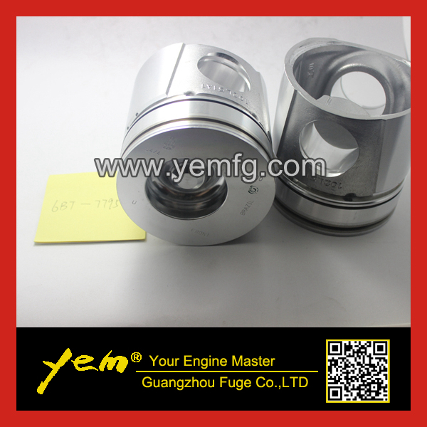 Diesel engine parts 6BT piston 7795