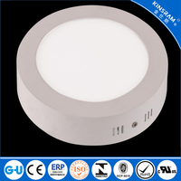General use panel light LED 6W surface mounted rounded led ceiling light