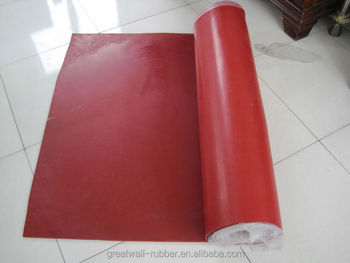 ISO 9001 High Quality 100% Pure Natural Tan/Pure Gum Rubber Sheet reach and rohs certificate