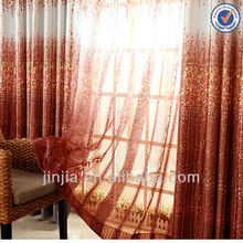 Curtain fabric Textile New design Home decoration Colorful tree design curtain fabrics