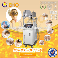 2016 new IHG882A home facial oxygen mask therapy ultrasonic rf skin care beauty equipment