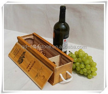 Customized Paulownia Wood Wine Box Case Hot New Products For 2015