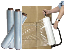 LLDPE Plastic Rollo Pallet Wrap Manual Stretch Film