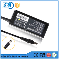 China wholesale manufacturer 15v 4A portable universal laptop adapter