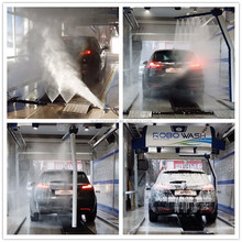 Auto Car washing Equipment With Automatic Parking System