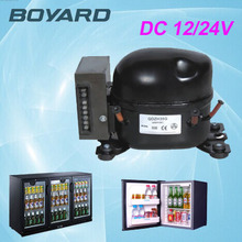 zhejiang boyard r134a solar power 12v 24v dc fridge compressor replace bd35f for portable solar mini fridge fridge freezer