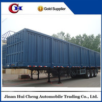 cargo box trucks trailers for electric appliance/coal/dinas transportation
