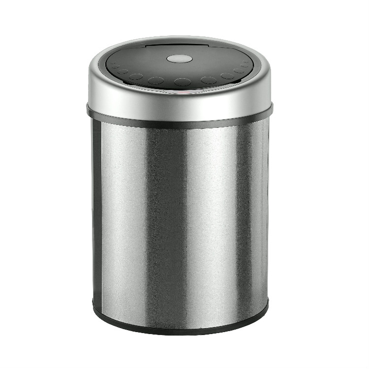 40L Intelligent Automatic Indoor Recycle Stainless Steel Waste Bin Price