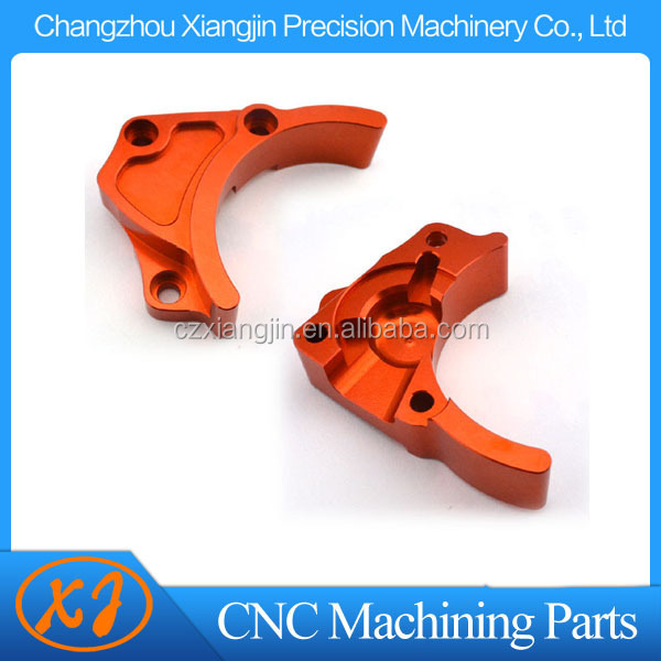 cnc aluminum milling part with design service