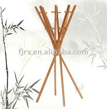 Bamboo coat rack , clothes holder