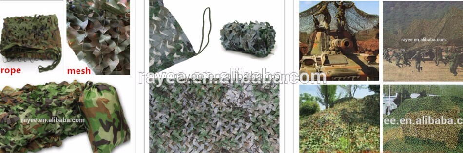 Reversible Color Effective Blind filet camouflage blanc military ...