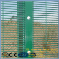 2015 fashion PVC painted 12.5x75mm mesh count protective visible wall panels welded mesh security fencing 358 fence panels