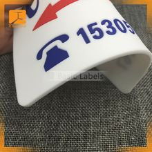 Factory price! custom high quality polyester fabric patch,wholesale adhesive clothing patches
