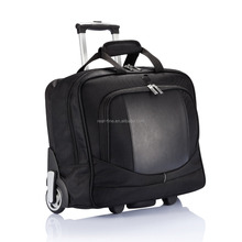 Deluxe Wheeled Document Trolley Computer Case rolling laptop bags
