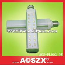 best seller! Aluminum 1000LM 6W 8W 9W 10W E27 220v LED PL Light lamp smd CFL style 180 degree G24 LED PLC lamp led pl g24