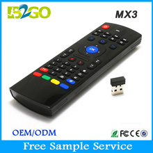 Hot b2go mx3 2.4GHZ silicone tv remote control protective cover for android tv box