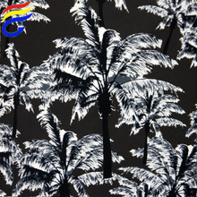Nylon lycra tree digital printed textile material fabric designing