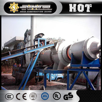 gost 40t/h dhb40 mobile asphalt mixing plant portable hot batch plant