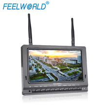 7 inch built-in battery HD LCD Monitor 5.8ghz fpv wireless transmitter hdmi for flying camera