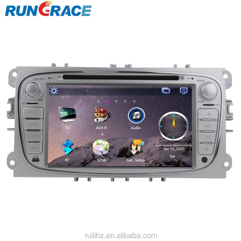 WINCE touch screen for ford galaxy car radio navigation system with GPS + Radio + BT+ SD