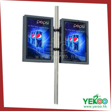 outdoor signage design outdoor signboard lamp pole light box advertising
