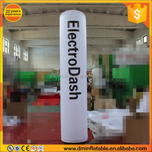 Outdoor Inflatable Advertising LED Tube Light Balloon / Wedding Decorative Inflatable LED Pillars