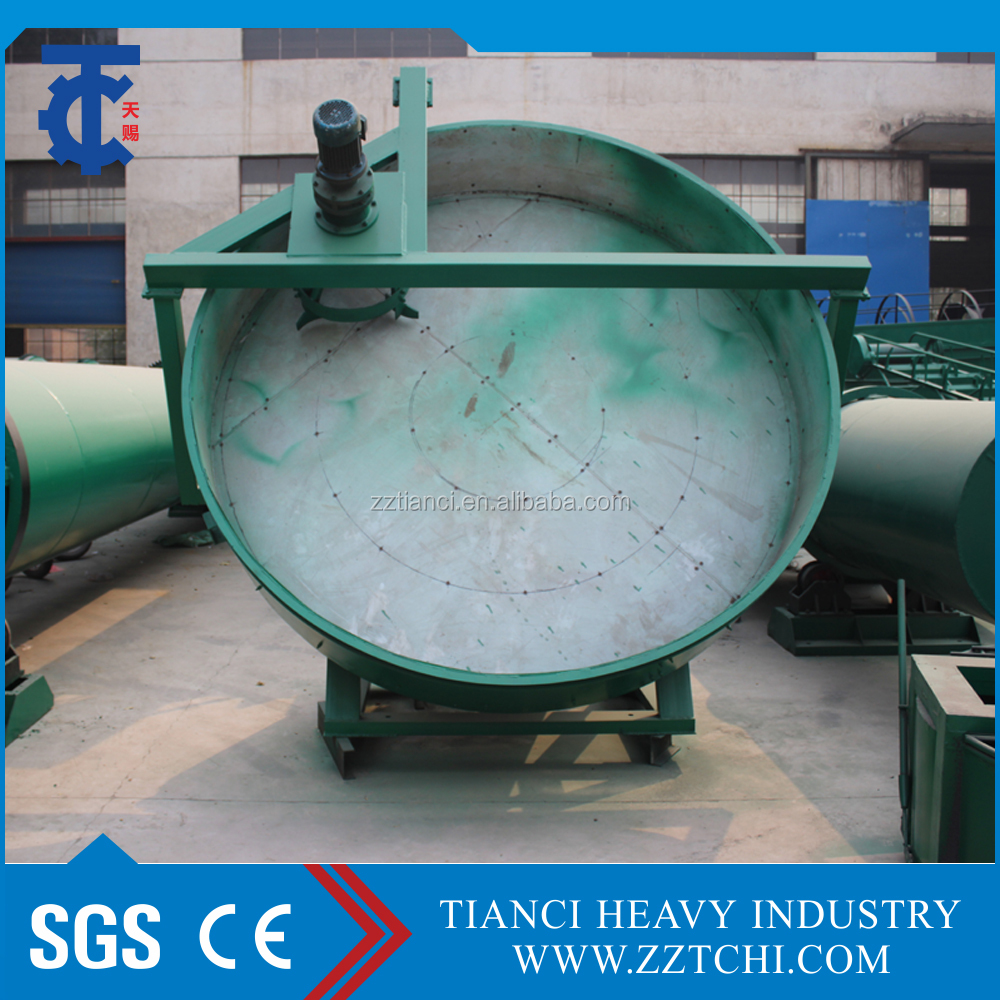 Fertilizer Disk Granulator!Organic Fertilizer Granulation Machine!Pan Granulation Machine!