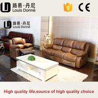 Factory price new milano leather living room furniture