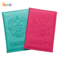 Encai Colorful PU Passport Cover Russia Passport Case Travel Tickets Cards Passport Holder
