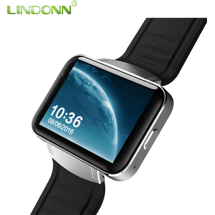 Factory OEM 3G Wifi android latest wrist hand watch mobile phone bluetooth touch screen smart watch with heart rate monitor