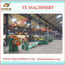 TX1600 High Quality stainless steel sheet coil slitting machine