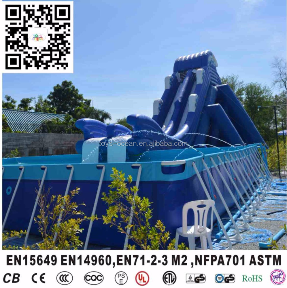 inflatable pool slides for inground pools,swimming pool slides for sale,large inflatable pool slide