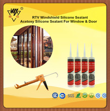 RTV Windshield Silicone Sealant And Acetoxy Silicone Sealant For Window & Door