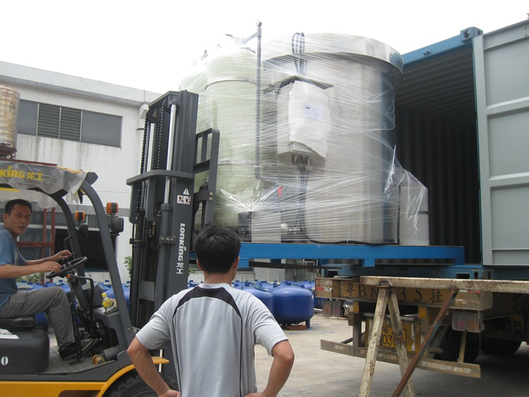 High Quality Industry Borehole Water Treatment Reverse Osmosis System Project Construction