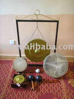 Traditional Musical Instrument for Dikir Barat Show