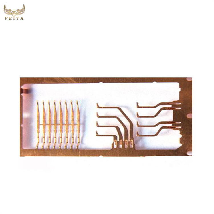 Gold Plated RJ45 terminal stamping die design and making