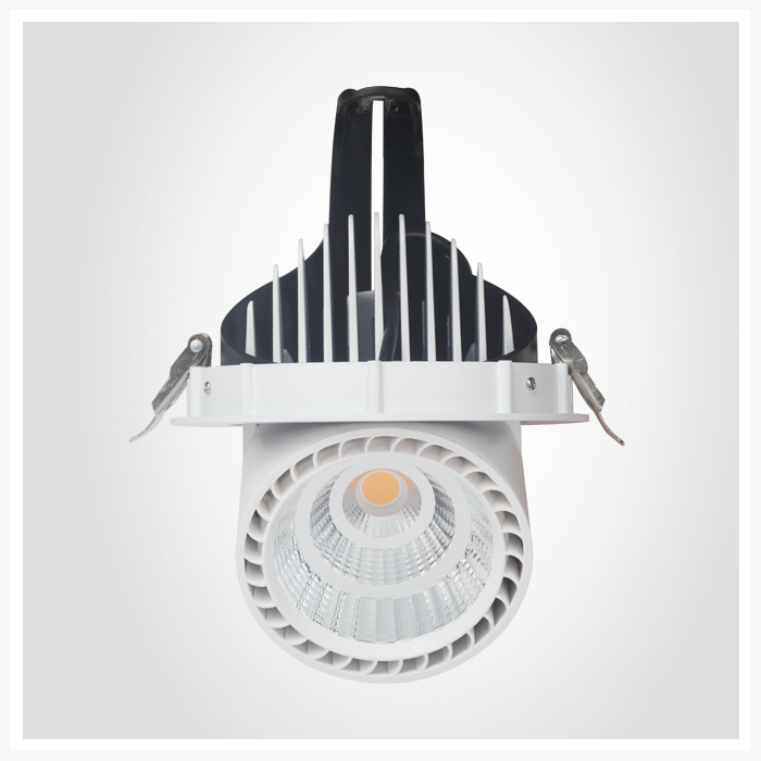 5 years warranty led wall washer recessed rotatable rotational tiltable adjustable gimbal led downlight 9w 15w 30w 40w 50w