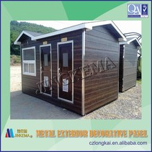 Polyurethane wall panel used for steel structure prefabricated houses, buildings, villas