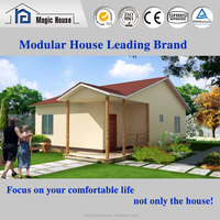 2016 hot sale prefab house with low cost modern prefabricated house with good appearance
