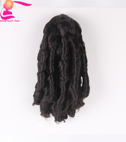 Top selling Synthetic short Curly Wavy Claw Clip Ponytail Pony Tail Hair Extension hair piece free shipping