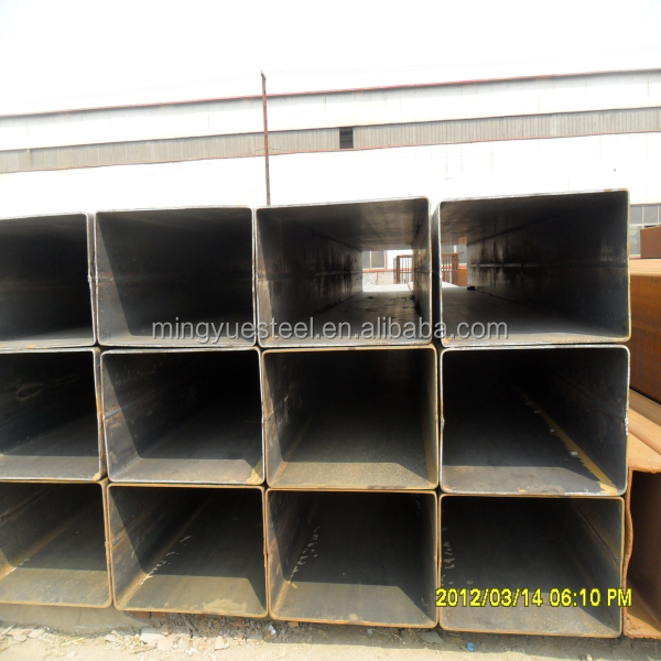 galvanzied square steel pipe/tube/pre galvanized rectangular steel pipe in china
