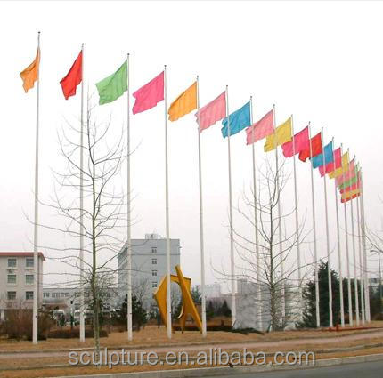 2017 New Modern Stainless Steel Flagpole
