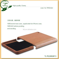 Natural real wood case for ipad mini,newest accessories for ipad case wood